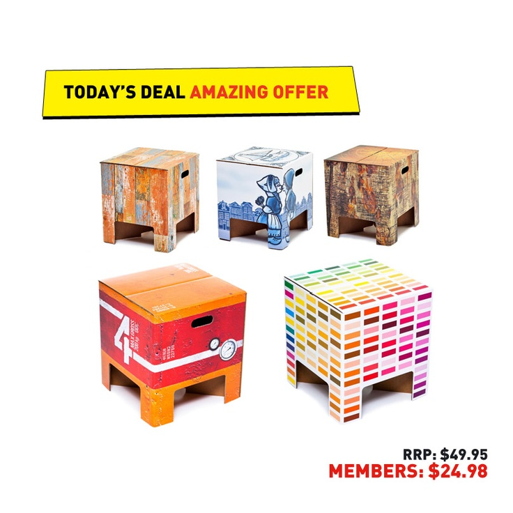 #50deals Day 26 - 3rd June. Dutch Design Chairs.