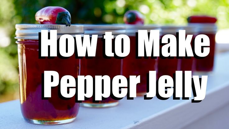 How to Make Pepper Jelly - Low Sugar - Without Any Special Canning Equip...