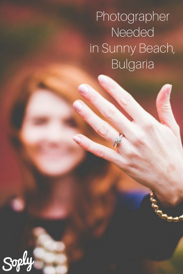 #Photographer needed for an #engagement in Sunny Beach, Bulgaria. See the #photography job and apply by clicking the pin!