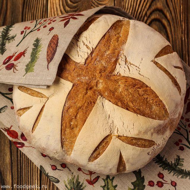 food geek: Деревенский хлеб