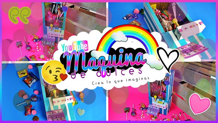 Caja Maquina de dulces | Especial San Valentin | Crea lo que imaginas