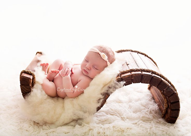 Woodsy wonders solid wood hand crafted baby s newborn poser photo
