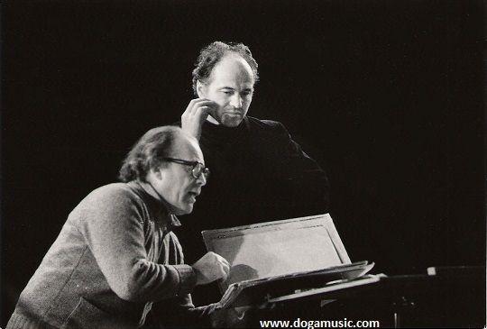 Eugen Doga and Anatoly Badhen