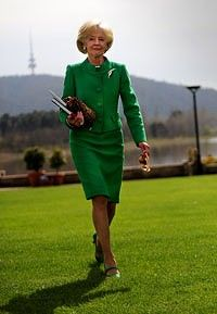 Governor General Quentin Bryce.