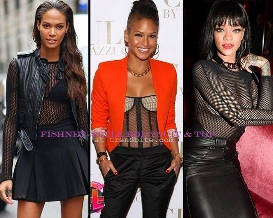 Fishnet-Style Bodysuit & Top | Fashion Finds > http://www.trendbite.com/2014/05/mad-about-fishnet-style.html#.Vb-2IPl7NOY