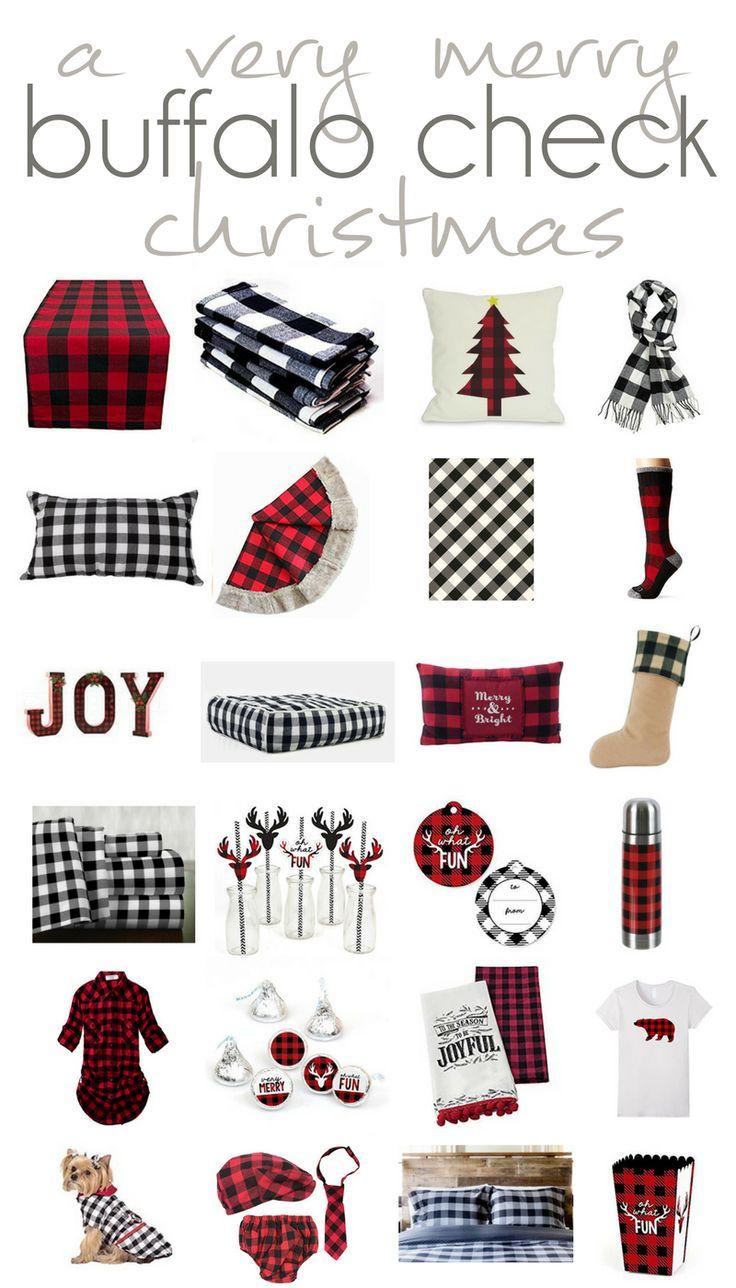 Buffalo Check Christmas, Christmas Decor, Christmas Shopping List, Christmas Decor Guide, Christmas 2016 Trends