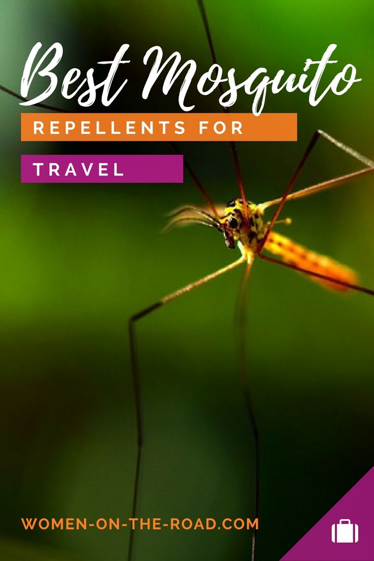 The Best Mosquito Repellents for Your Travels: Permethrin Spray, DEET and Other Anti Mosquito Travel Tactics