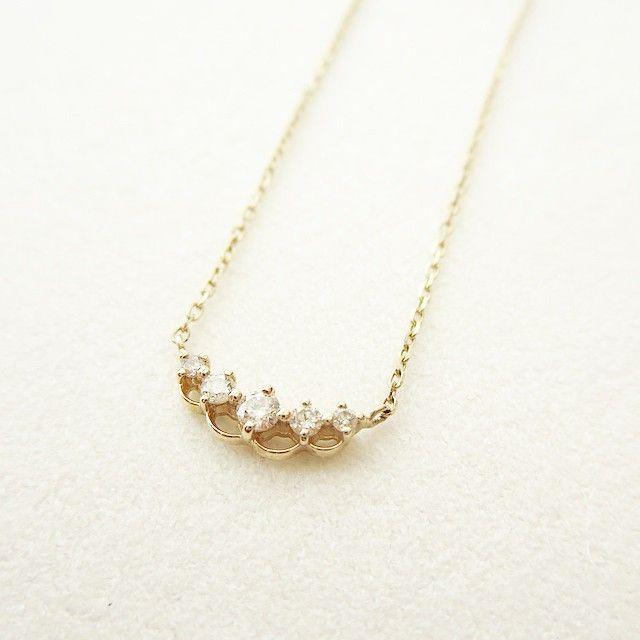 diamond necklace #tocca #japan