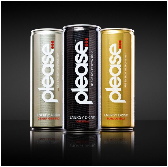 Energy drink available in 3 great tasting flavours