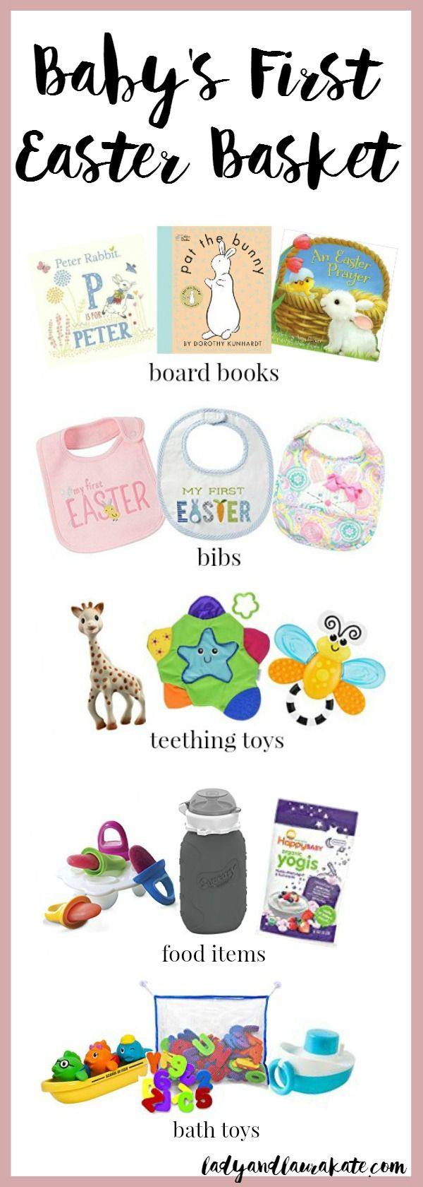 35 best easter ideas gifts for family and friends images on five things to put in babys first easter basket negle Gallery