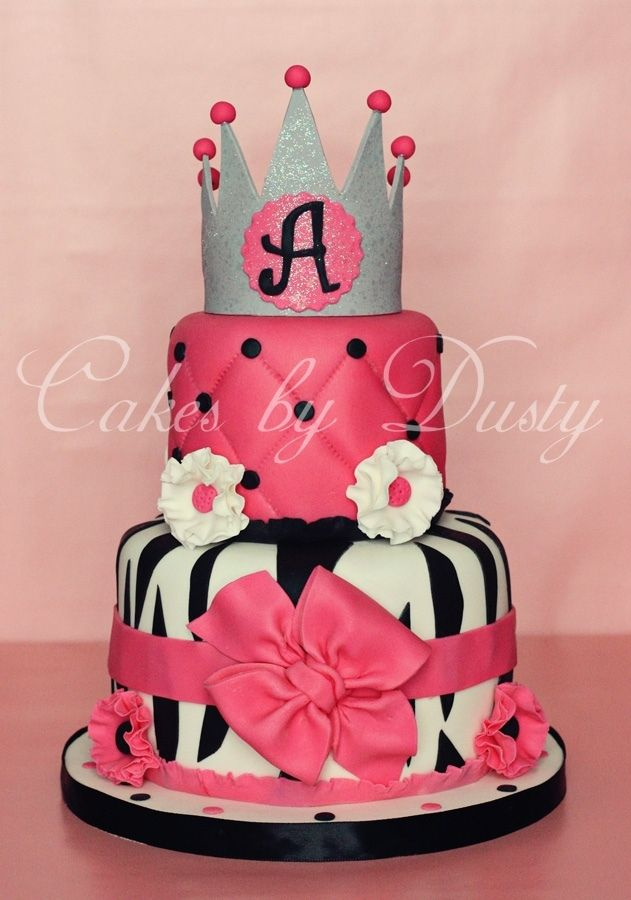 Princess Birthday Cake    This would have been perfect for Riley's birthday. She'll probably be over this style by next year.