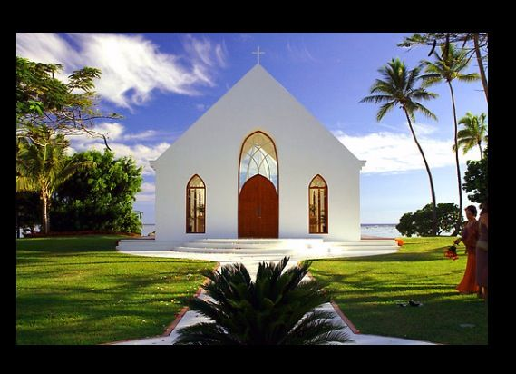 Seaside Chapel- Shangri La Resort, Yanuca Island, Fiji ...