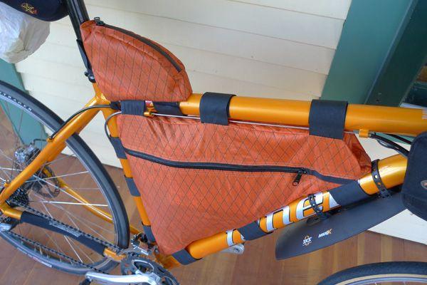 bike frame bag diy