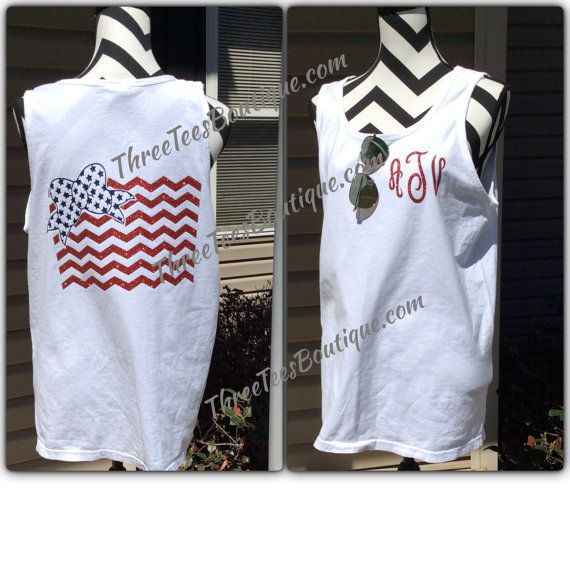 Hey, I found this really awesome Etsy listing at https://www.etsy.com/listing/228107848/american-flag-tank-top-monogram-comfort