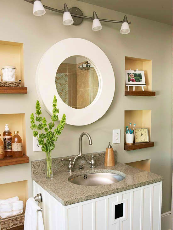 Bathroom wall niches decoracion de ba os pinterest - Wall niches ...