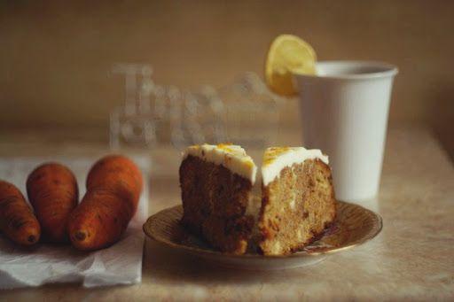 ♥ ugotujmy: potwornie pyszne ciasto z marchewką