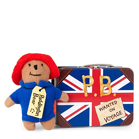 PADDINGTON BEAR Union Jack suitcase Paddington #jubilee