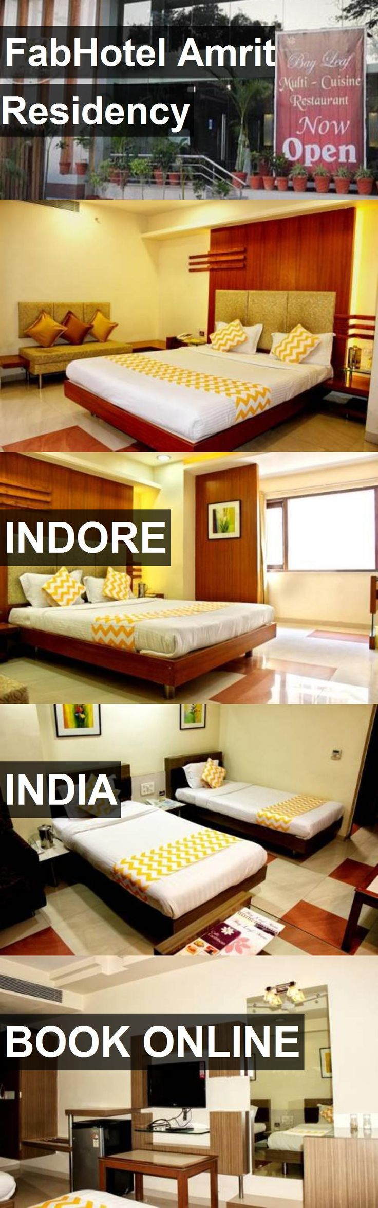FabHotel Amrit Residency in Indore, India. For more information, photos, reviews and best prices please follow the link. #India #Indore #travel #vacation #hotel