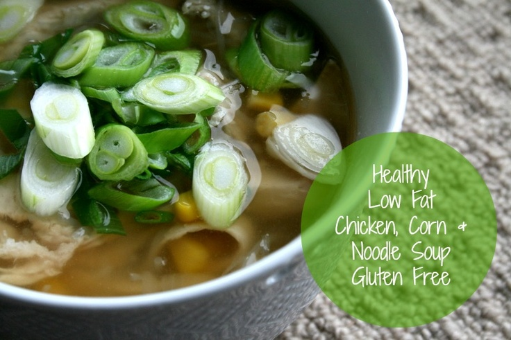 Twinkle in the Eye: Chicken, Corn and Noodle Soup