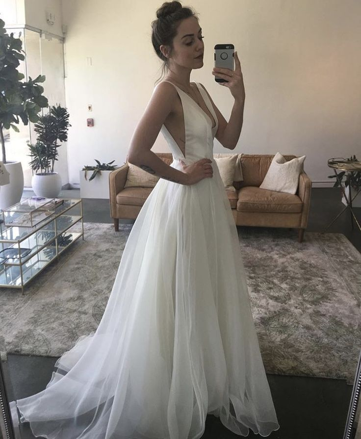 New Sarah Seven! The gown is called Lorelei