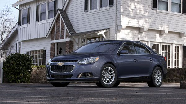 The 2014 #Chevrolet #Malibu grabs a 5-star safety rating from the NHTSA!