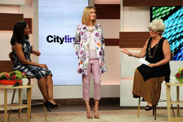 Look #1: Bloom thistle print coat, $229 Bloom checkerboard print capri, $119 Domino white mesh insert top, $69 Modern Primitive sand metallic Cayuga hooded jacket, $179 http://www.cityline.ca/…/cityline-lookbook-hot-spring-look…/ #Cityline #FashionFriday #SPANNER #Canadian #Fashion #LynnSpence #TracyMoore
