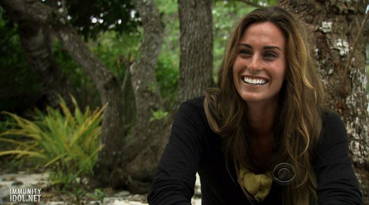 Kim Spradlin, Naturally beautiful. Survivor, season 24.