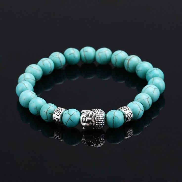 LIMITED OFFER: Get This Beautiful Natural Stone Buddha Bracelet for Just $9! Click to pick out your color and order!