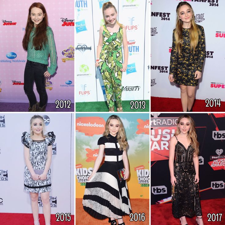 Sabrina Carpenter looks good since the beginning and blossom into a young talented lady. She has been on purple, green, orange, red and more red carpets. Her red carpet looks are goals. // @sabaribello