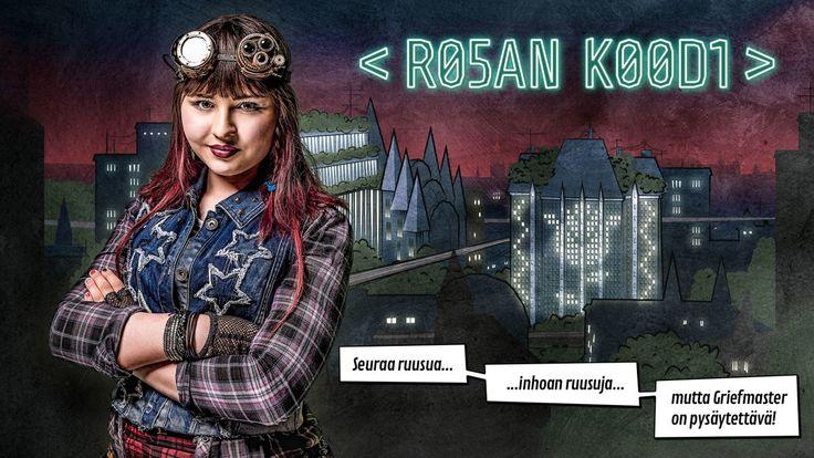 Rosan koodi -peli innostaa ohjelmoinnin pariin.