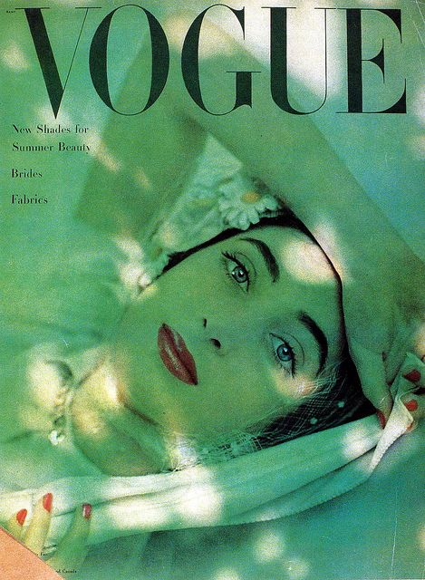 1948 Vogue Cover. #ColoroftheYear