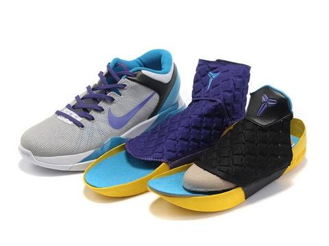 Nike Kobe 7 Grey Blue Purple