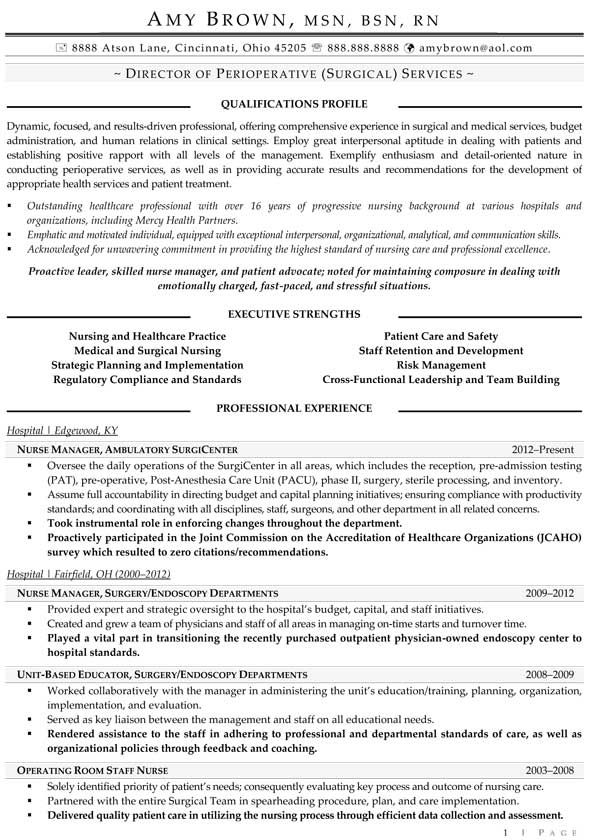 44 best Resume Samples images on Pinterest Resume examples, Best - perioperative nurse sample resume
