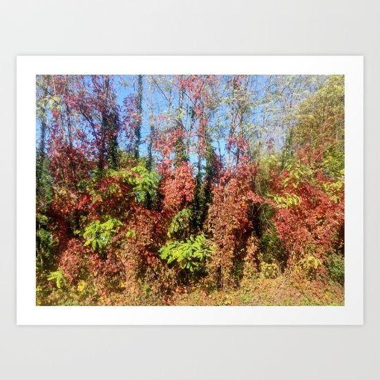 fall - winter Art Print by Chiara - $16.00