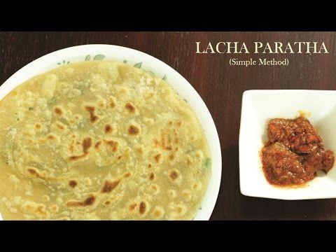 Lachha Paratha Recipe  Simple Lachha Paratha Indian Flat Bread Try Curry