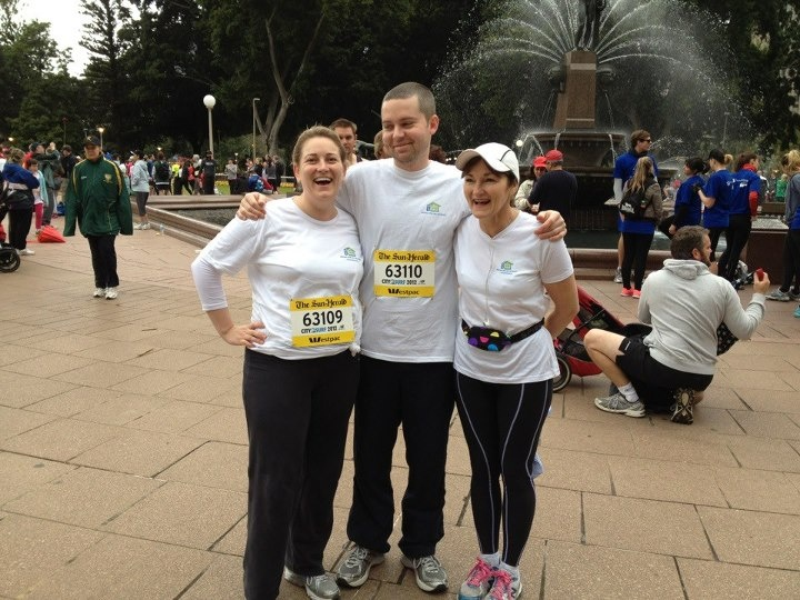 Yes- we did it! We entered in the City2Surf for 2012!