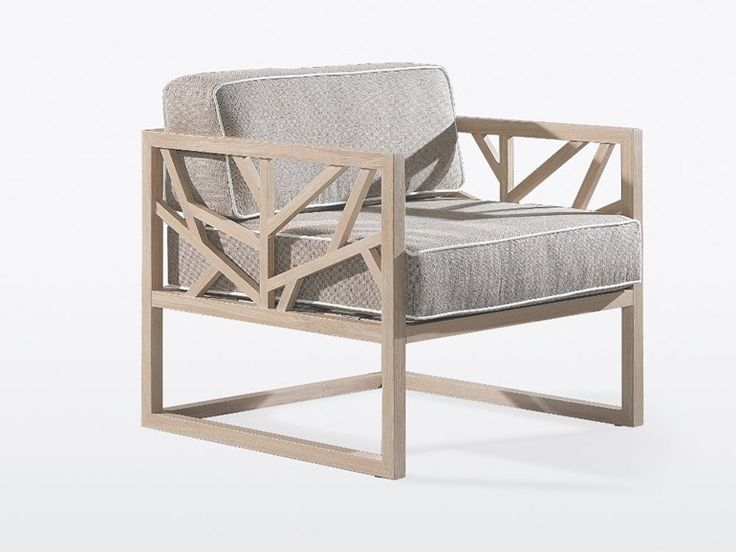 Wooden armchair with armrests TREE by WEWOOD | design WEWOOD DESIGN CENTER
