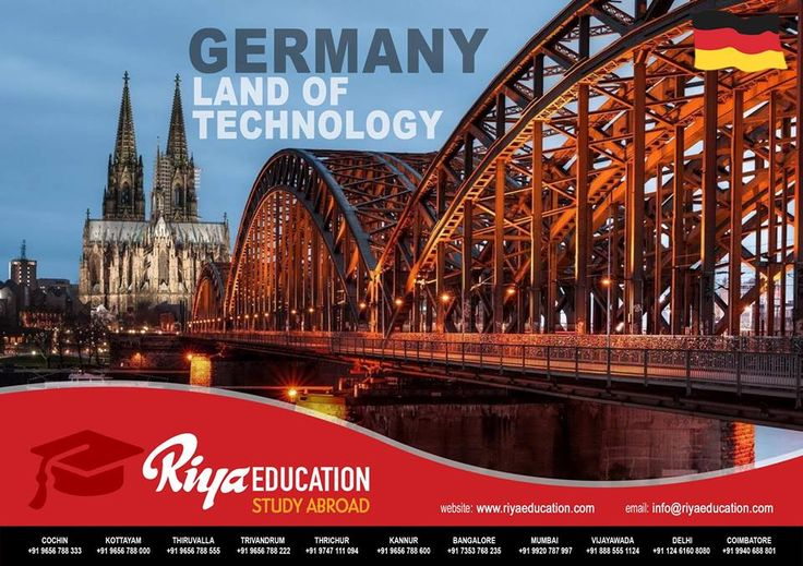 "Abroad Education in Germany -  Germany is one of the best places for abroad studies and is known as ""The land of Technology"" !!!"