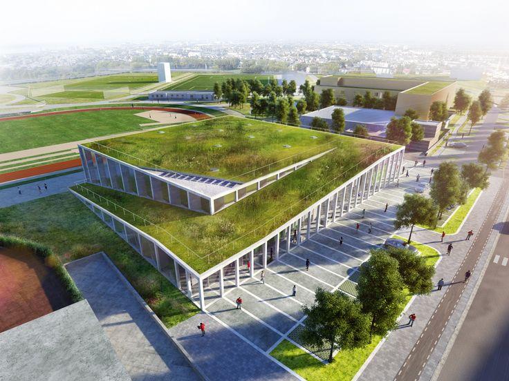 Complexe Sportif, Ville de Saint-Nazaire (44) - Ville de Saint-Nazaire - Antonini Darmon