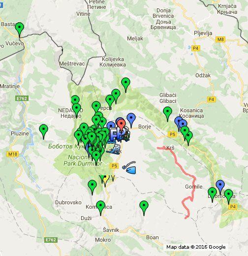 Zabljak Durmitor National Park/Šepić accommodation