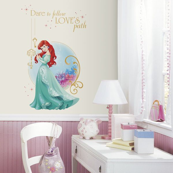 Disney Ariel Love Peel And Stick Decal   Wall Sticker Outlet Part 81