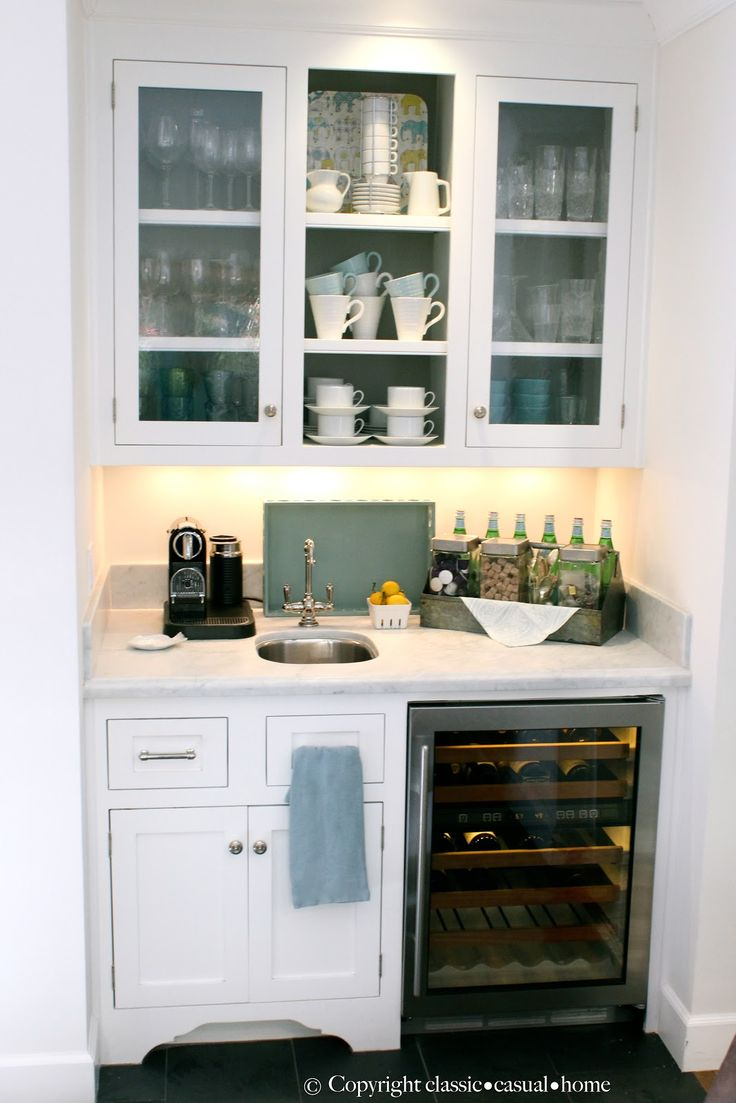 Beverage Center Classic Casual Home Home Tour