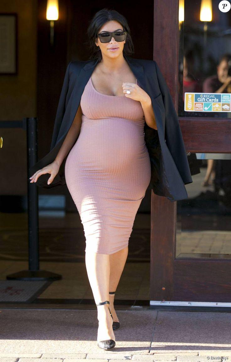 Kim Kardashian à Malibu, le 20 septembre 2015.