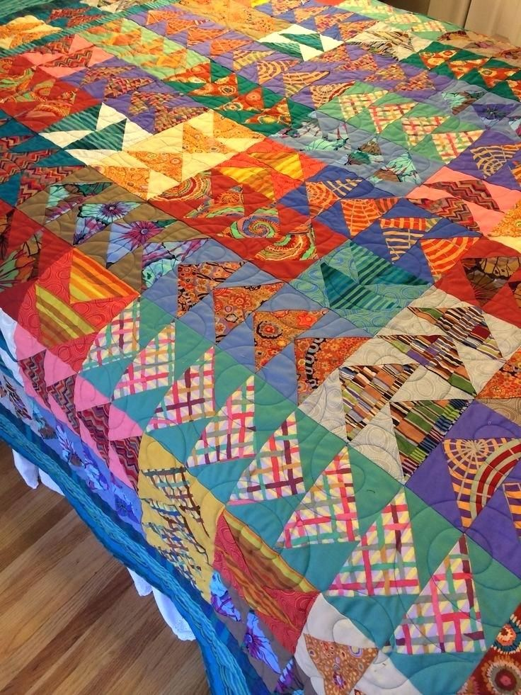 Kaffe Fassett Quilt Kits Sale Kaffe Fassett Quilts In The Sun Kaffe Fassett Quilt Fabric Sale Flying Geese Quilt With Kaffe Fassett Fabric By Ann Dickerson Https Www