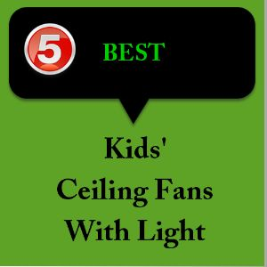 These kids ceiling fans with lights will look very attractive in your child's or baby's room. Typically children get drawn to radiant colors and lighting..