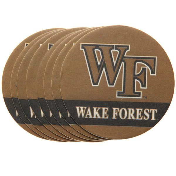 Wake Forest Demon Deacons 8-Pack Paper Coaster - $9.99