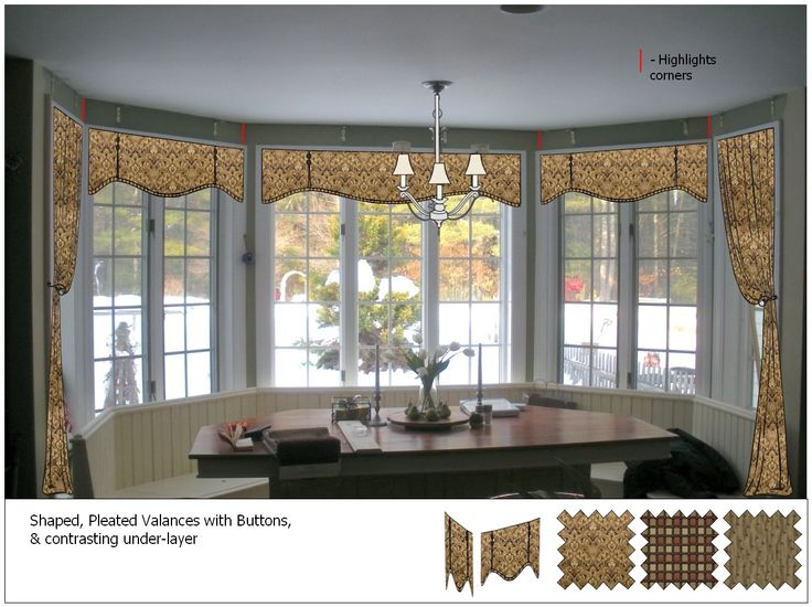 Small window treatment ideas ideas kitchen window for Kitchen valance ideas pinterest