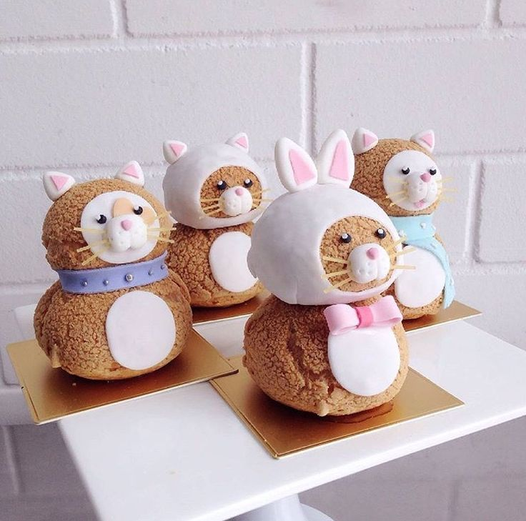 Religeuse in 2019 | Choux pastry, Choux cream, Cute desserts
