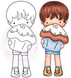 *New* C.C. Designs Sugarplums Cupcake Trevor DIGI Image
