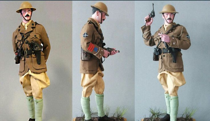 Officer, Cameronians, 1918